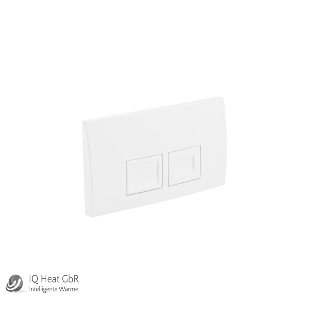 geberit bet tigungsplatte delta 11 21 50 f r geberit wc duofix basic up100 ebay. Black Bedroom Furniture Sets. Home Design Ideas