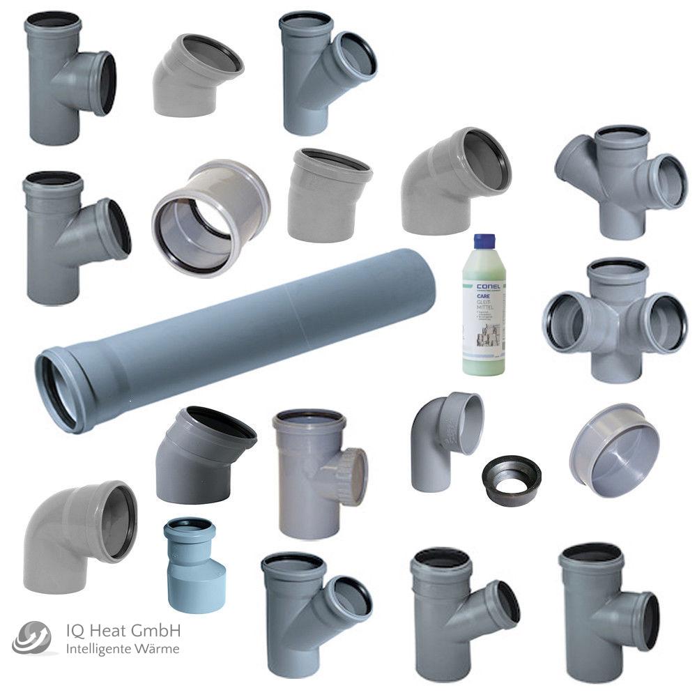 kg rohre kgem dn110 125 150 200 250 300 400 500 abwasser rohr kanalrohr muffe ebay. Black Bedroom Furniture Sets. Home Design Ideas