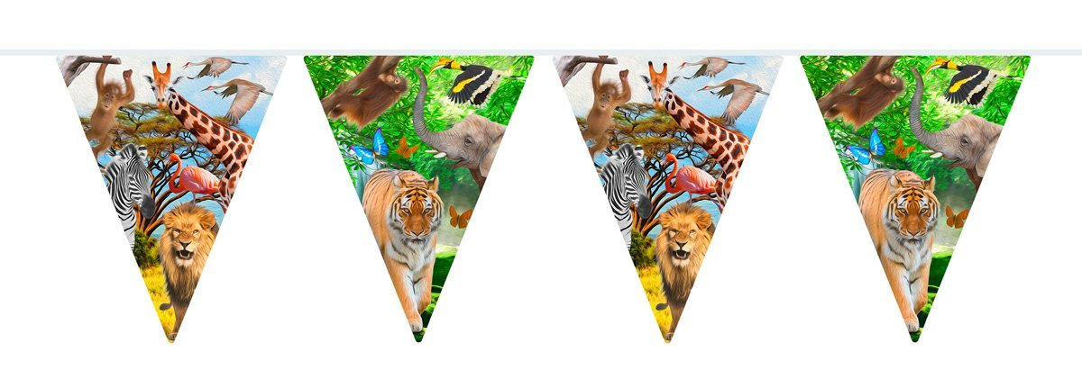 SAFARI Dschungel PARTY Banner