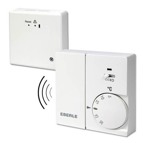 thermostat funk set rtr eberle festanschluss ebay. Black Bedroom Furniture Sets. Home Design Ideas