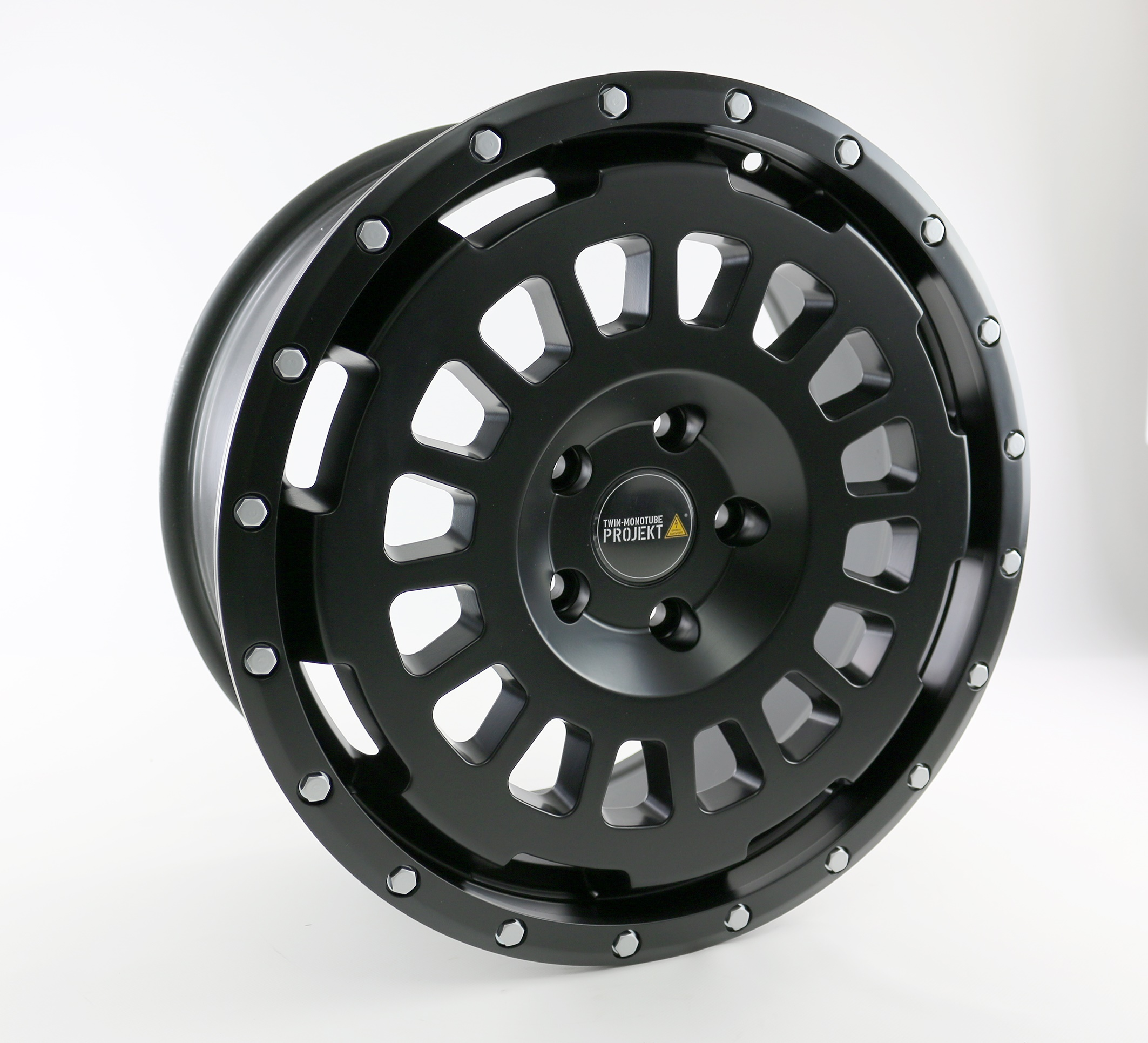 4x Offroad Allterrain Felge 8x18 schwarz für Mercedes V-Klasse Vito
