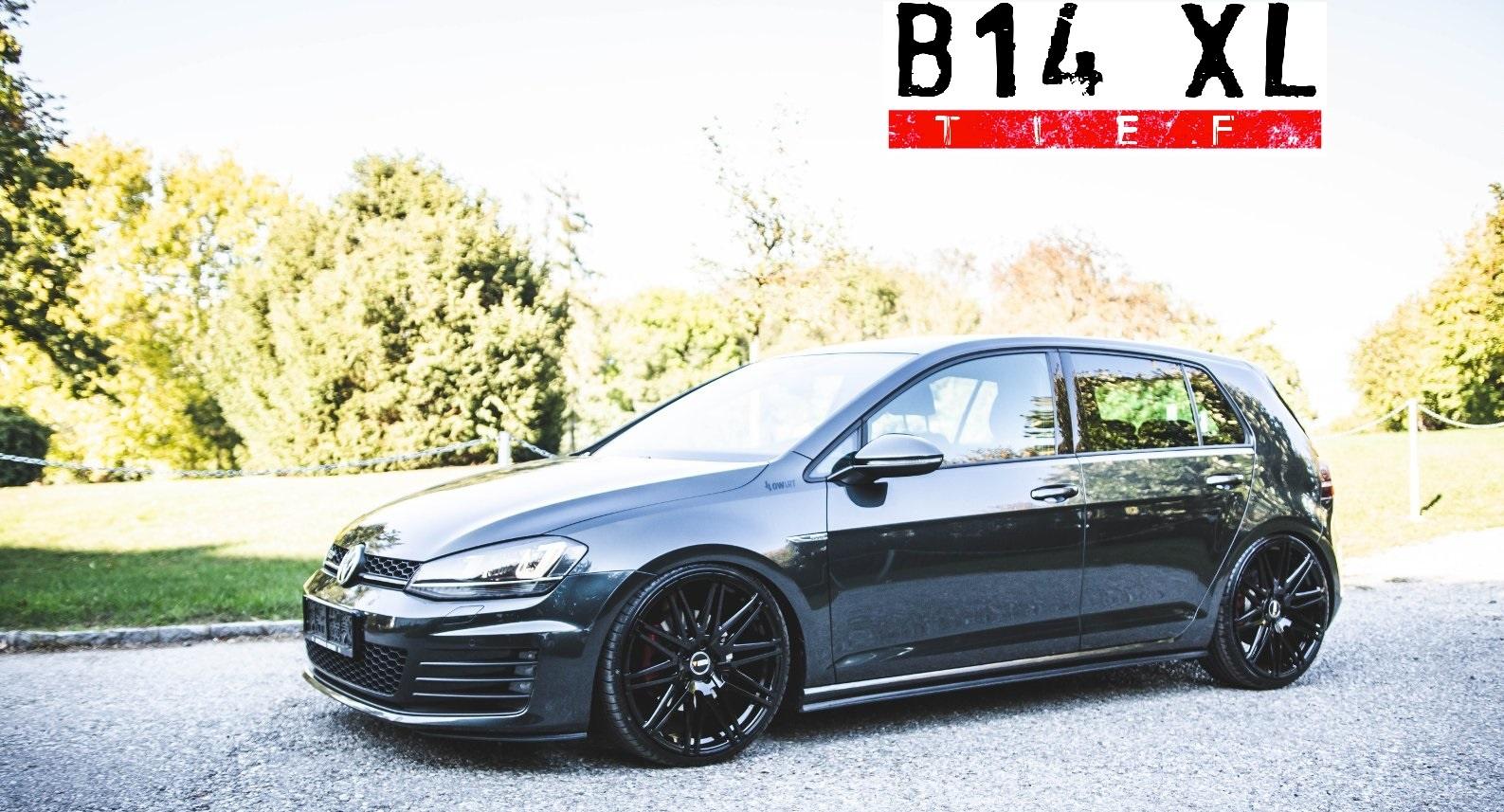 Bilstein B14 XL tief VW Golf 7 55mm Gewindefahrwerk Schraubfahrwerk