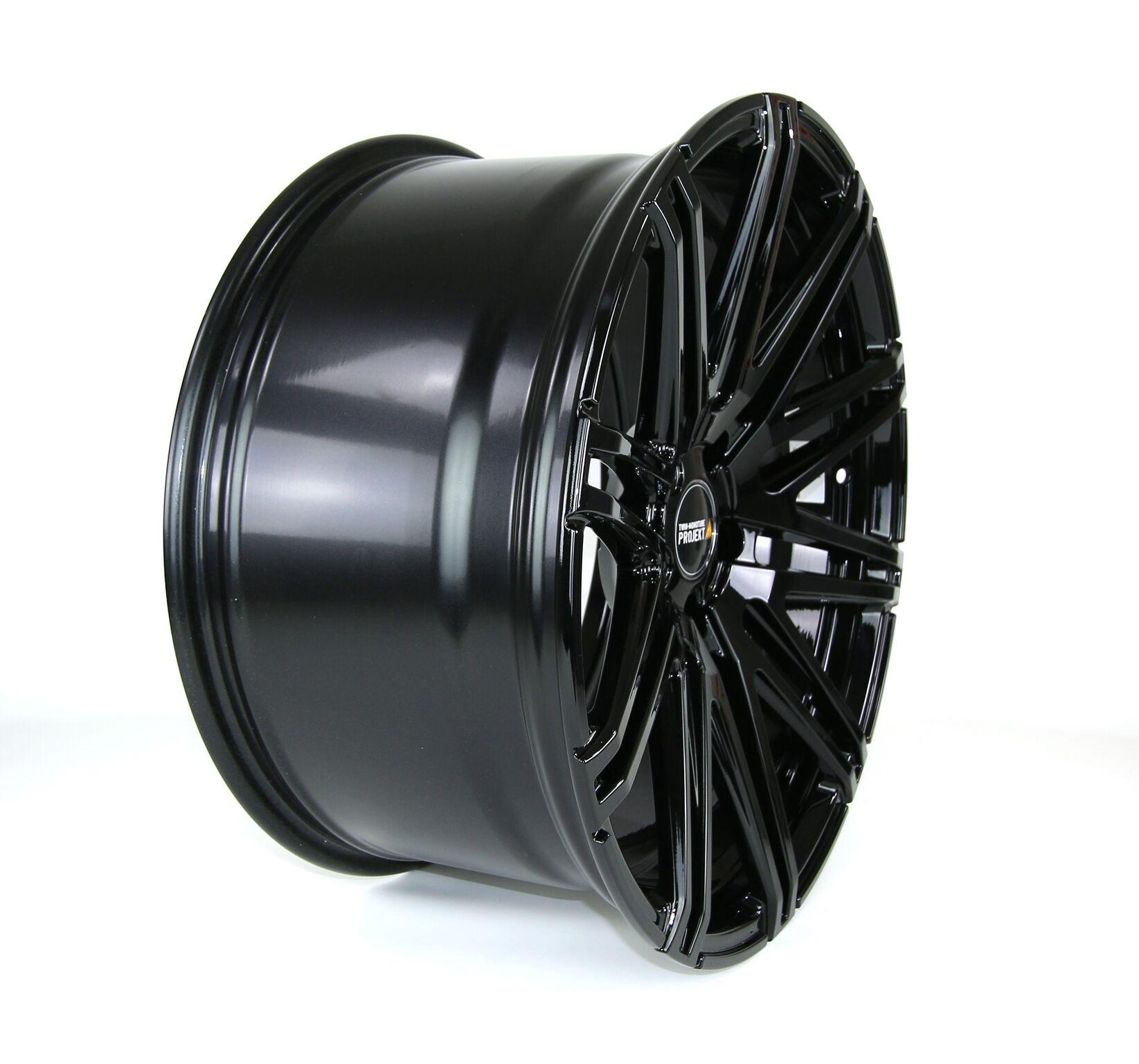 1x Twin Monotube Projekt Felge 9x20 ET40 für Audi A6 4G Deep