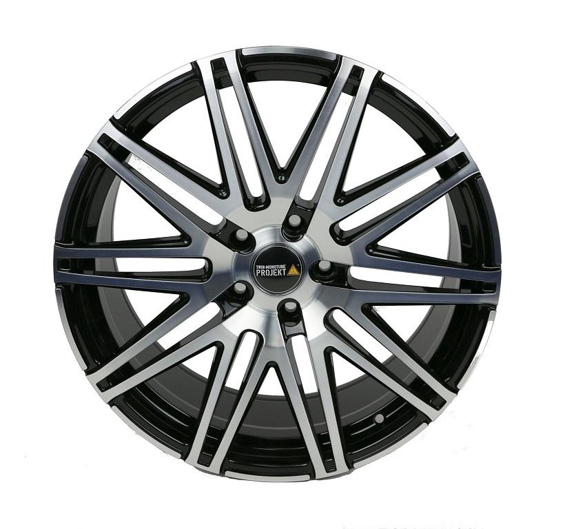 4x Twin Monotube Projekt Felge 9x20 ET42 Für VW T5 + T6