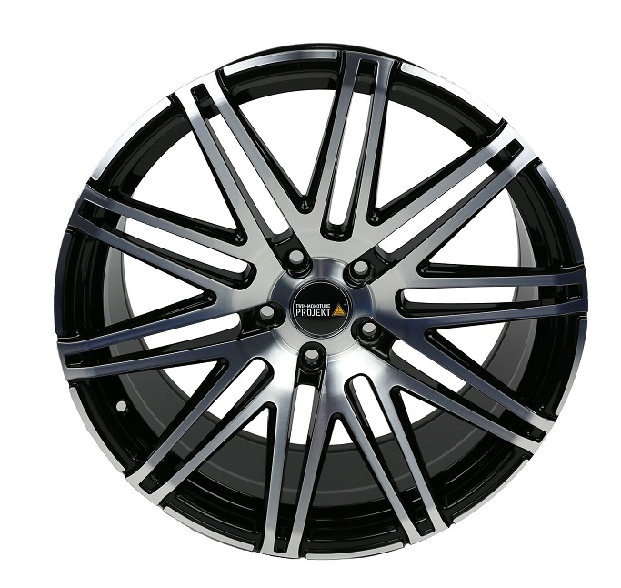 2x Twin Monotube Projekt Felge 9x20 ET39 für VW T5 + T6 deep FP