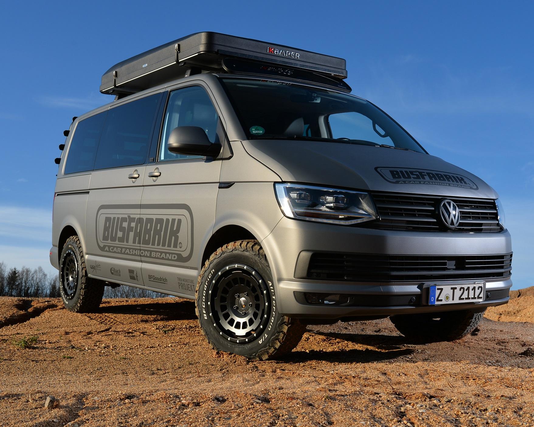Offroad Paket für VW T5 T6 Allterrain Felgen + Höherlegungsfahrwerk