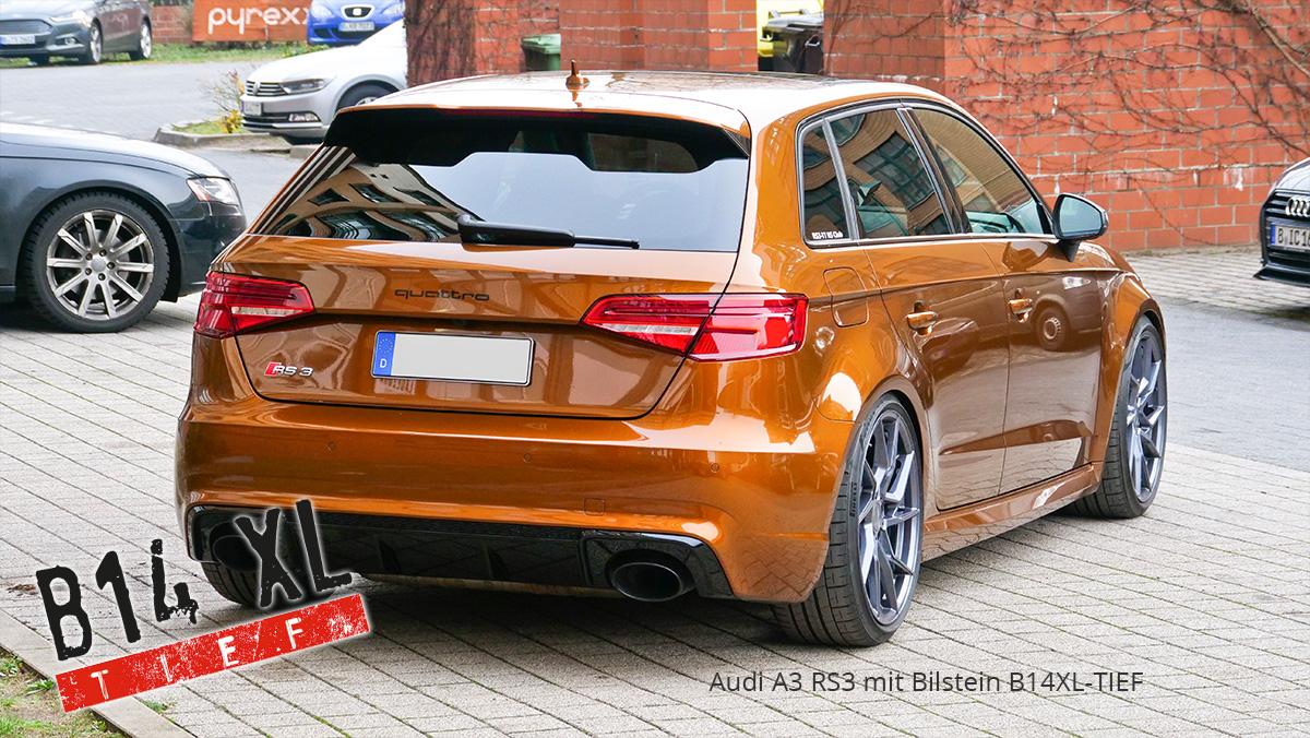Bilstein B14 XL tief Audi A3 S3 RS3 8V 55mm Gewindefahrwerk Schraub