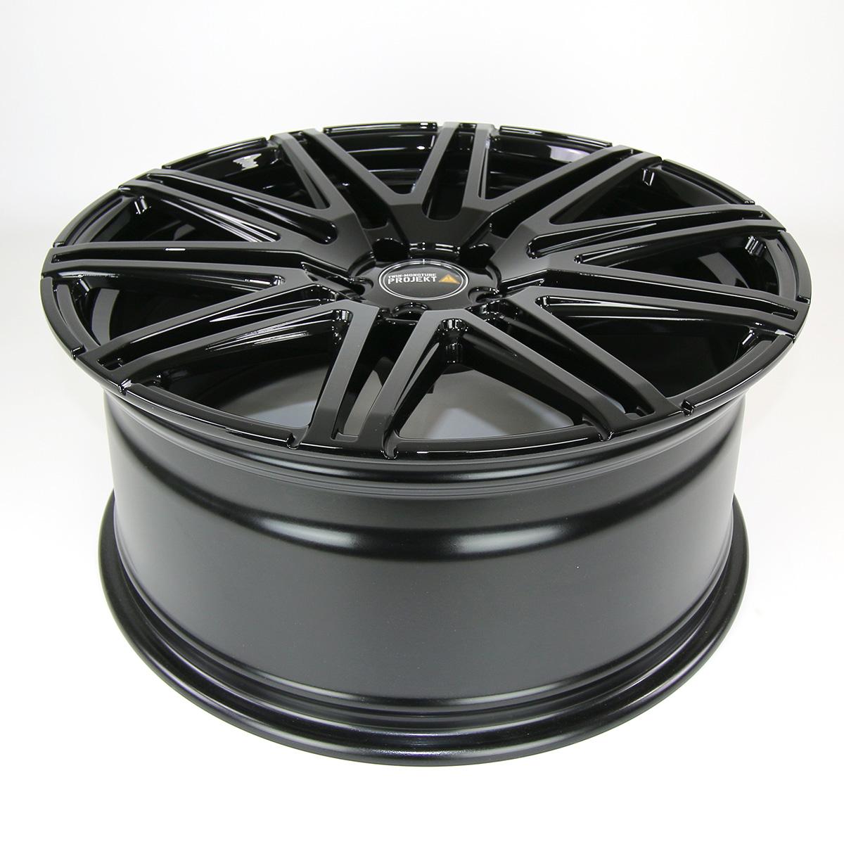 2x Twin Monotube Projekt Felge 9x20 ET40 für Audi A4 8K/B8 konkav
