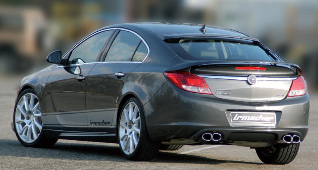 Irmscher Artikel für Opel Insignia
