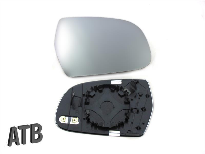 Spiegelglas mit Platte für SKODA CITIGO 2011-2019 beheizbar rechts konvex
