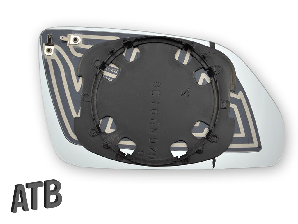spiegelglas asph risch beheizbar links f r skoda octavia. Black Bedroom Furniture Sets. Home Design Ideas