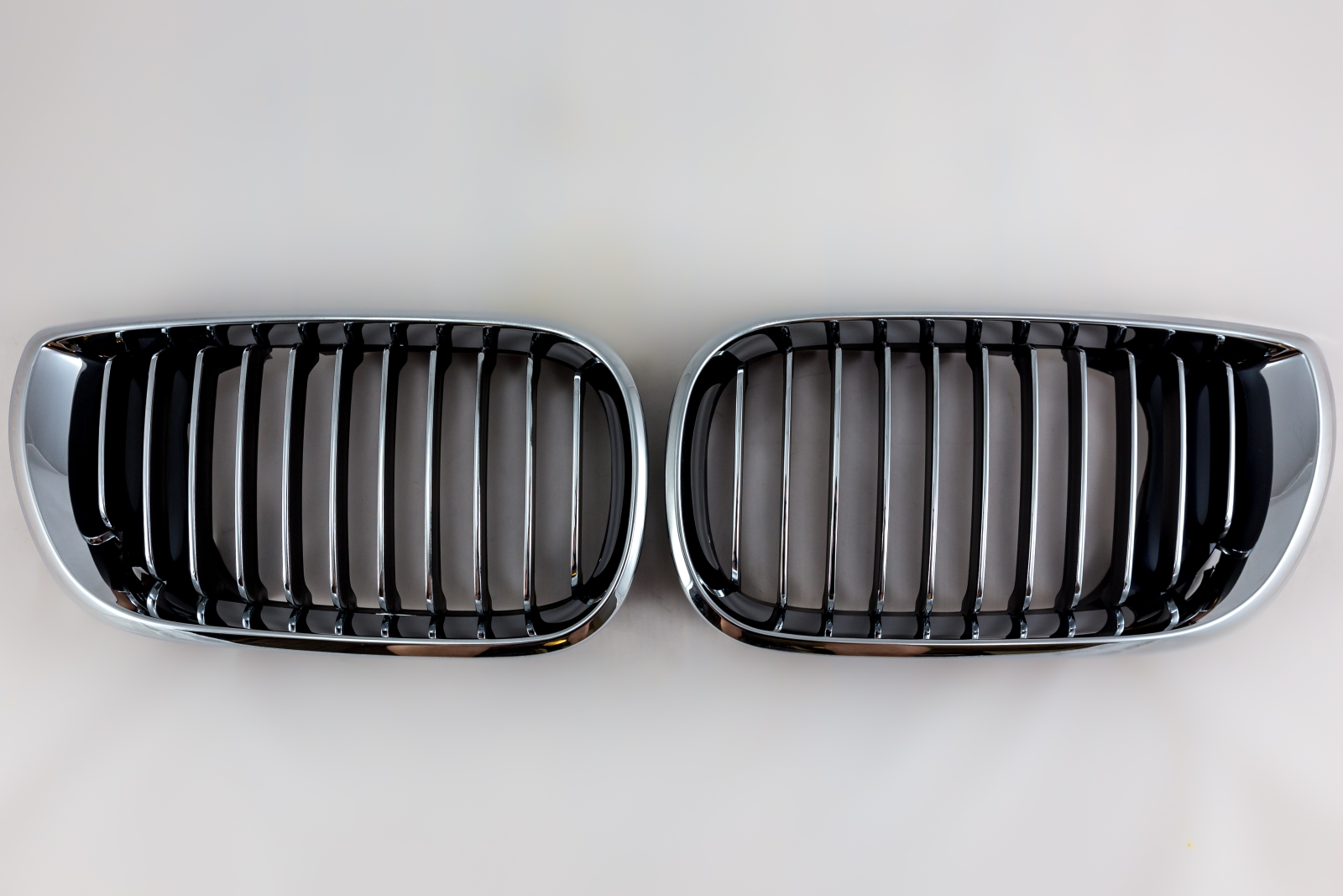 Kühlergrill Grill Nieren Chrom Links f. BMW 3 E46 LIMOUSINE TOURING 01-05