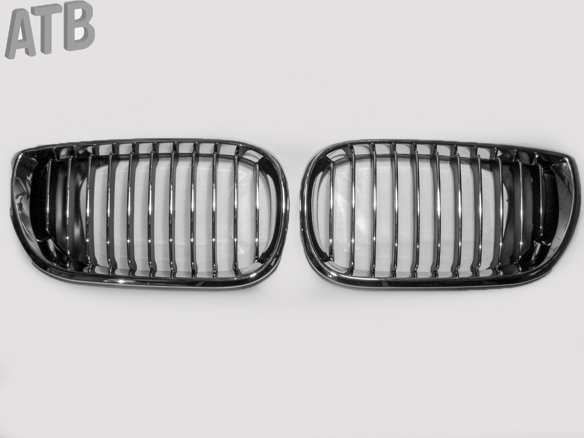 Kühlergrill Grill Nieren Chrom Rechts Links f. BMW 3 E46 LIMOUSINE TOURING 01-05