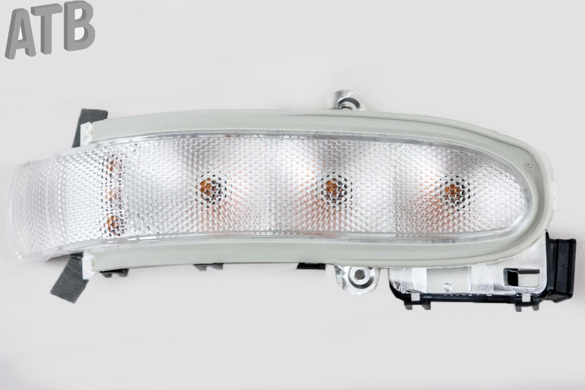 Blinkerleuchte Seitenspiegel Beheizbare LED-Signalschleppspiegel 55156129AC 55156128AC Passend f/ür Abschleppspiegel CH1321332 CH1320332 2 Stk