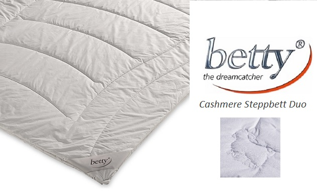betty - the dreamcatcher 200x220 Cashmere-Steppbett Duo