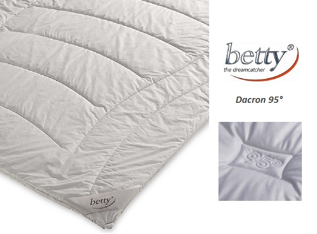 betty Dacron 95°-Steppbett Light Sommerbett optimal für Allergiker 135x200