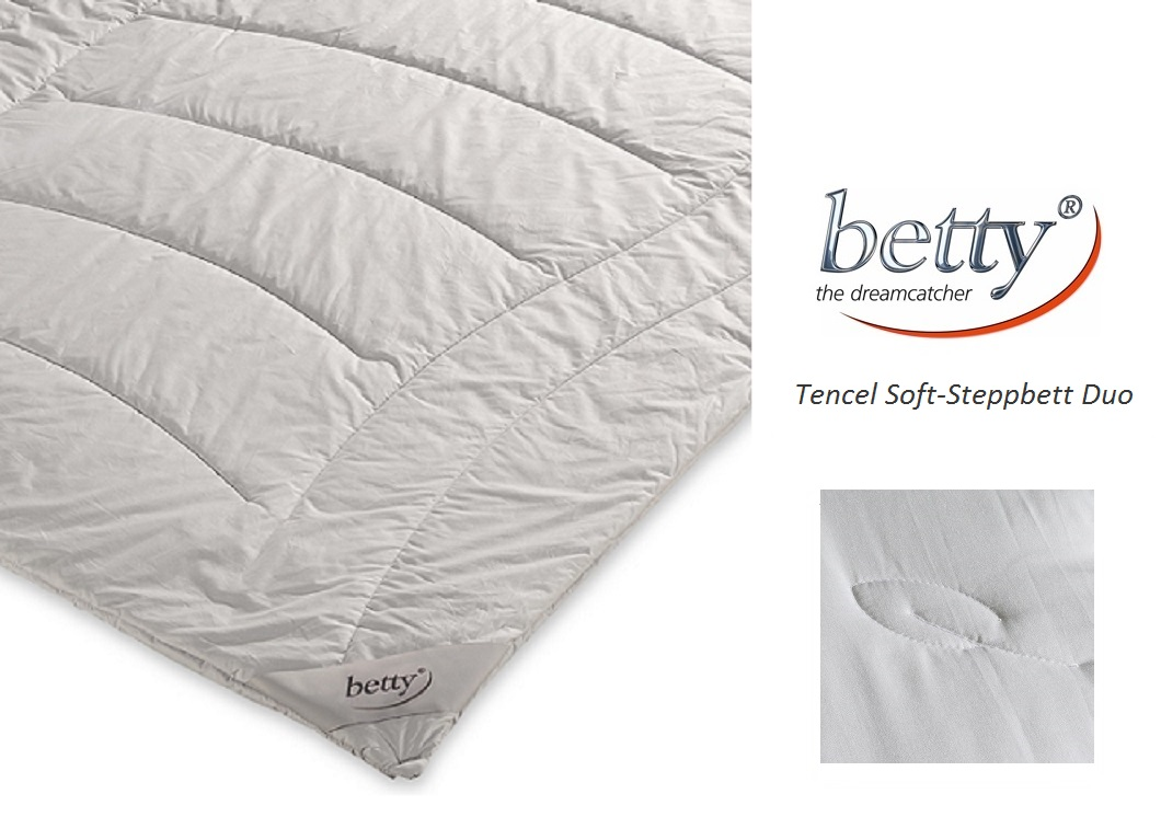 betty Tencel Soft-Steppbett Duo auf der Haut wie Seide Winterdecke