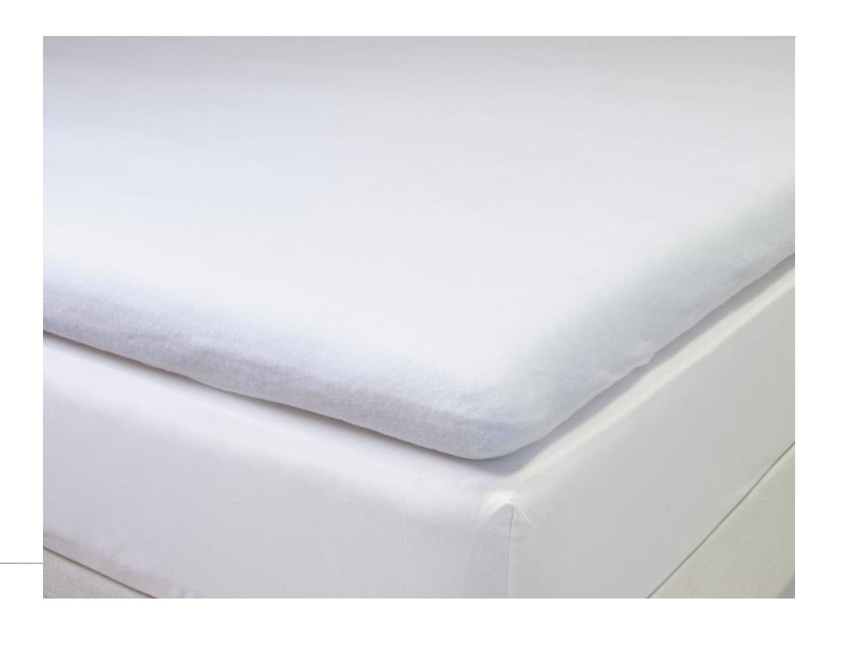 Perfect Cevilit Boxspring Topper Tk Bk Molton Stretch Auflage With Topper  Bettlaken 180x200