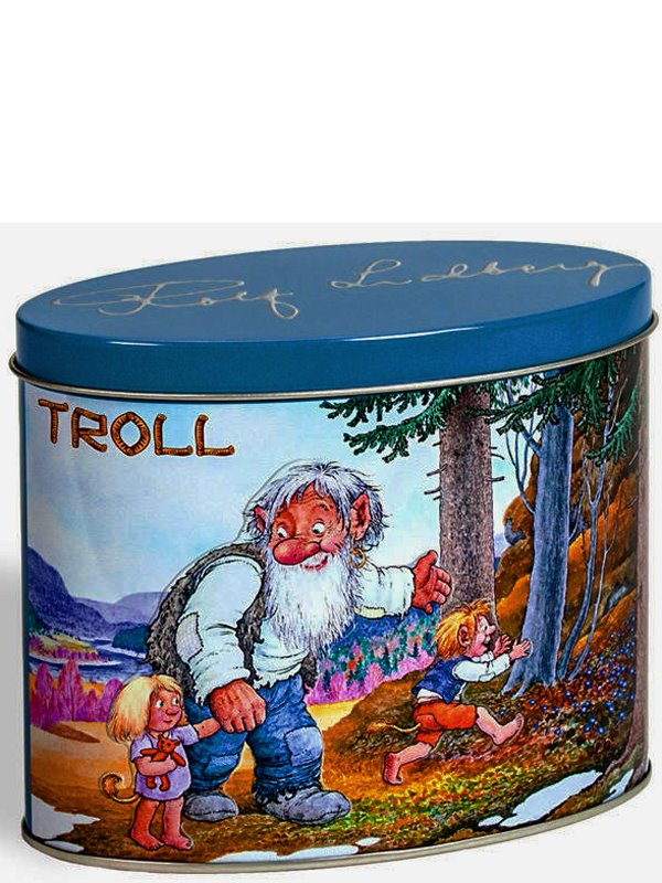 Blechdose Troll by Rold Lidberg
