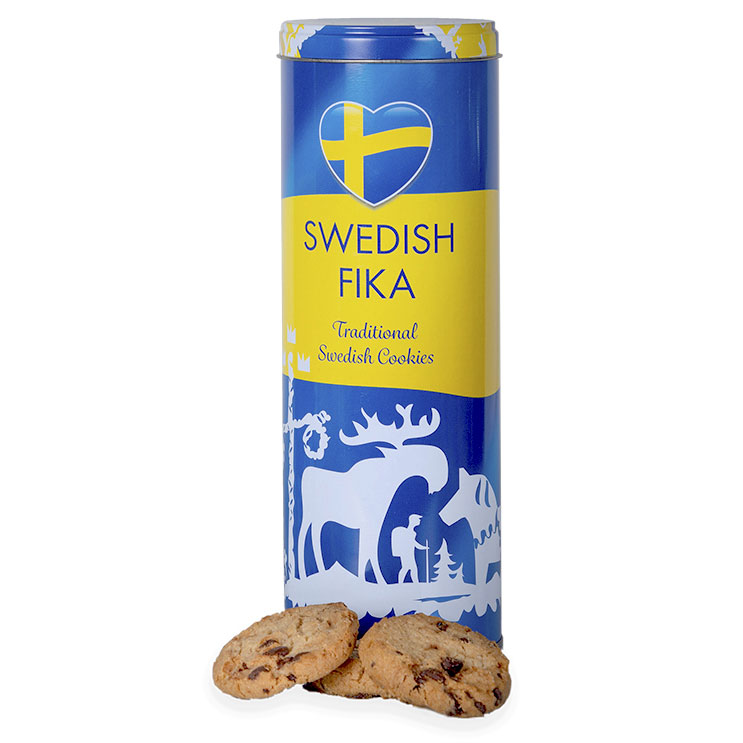 Swedish Fika Traditional Cookies Chokladkakor