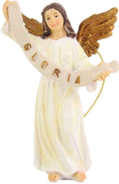krippen bauern krippenfiguren engel in weiss gold f r figuren gr e. Black Bedroom Furniture Sets. Home Design Ideas