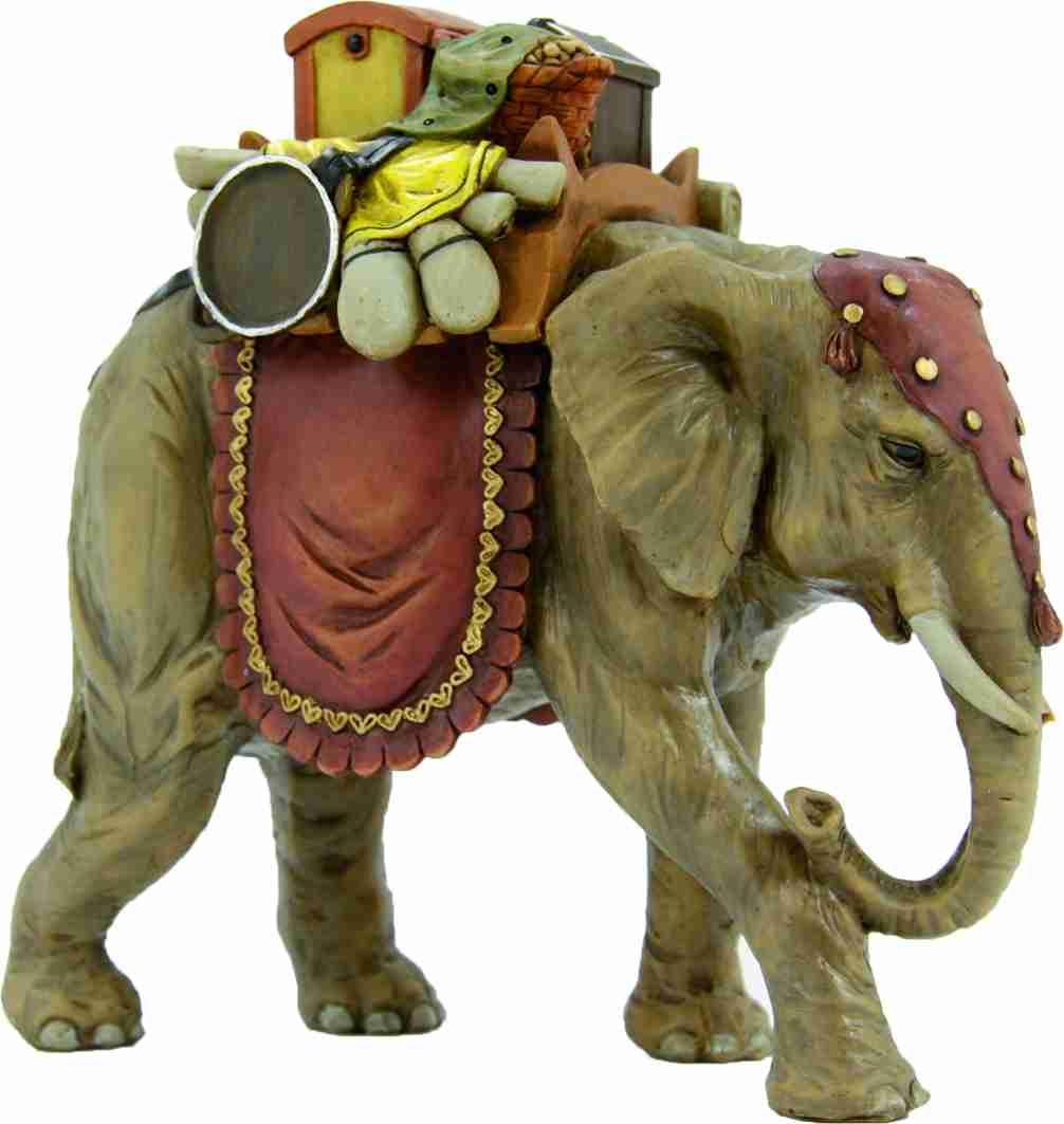 krippenfiguren tiere elefant mit gep ck f r figuren 8 cm. Black Bedroom Furniture Sets. Home Design Ideas