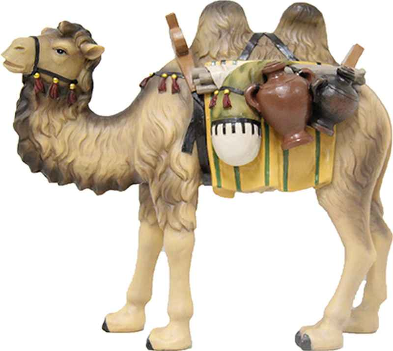 krippenfiguren tiere kamel mit gep ck f r figuren 9 cm. Black Bedroom Furniture Sets. Home Design Ideas