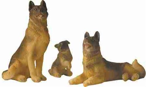 krippenfiguren tiere hundefamilie 3 teilig f r figuren 13 18 cm. Black Bedroom Furniture Sets. Home Design Ideas