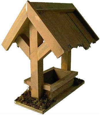 Minigarten zubeh r holzbrunnen steinbrunnen tr nke mit dach h he ca 9 3cm ebay - Minigarten zubehor ...