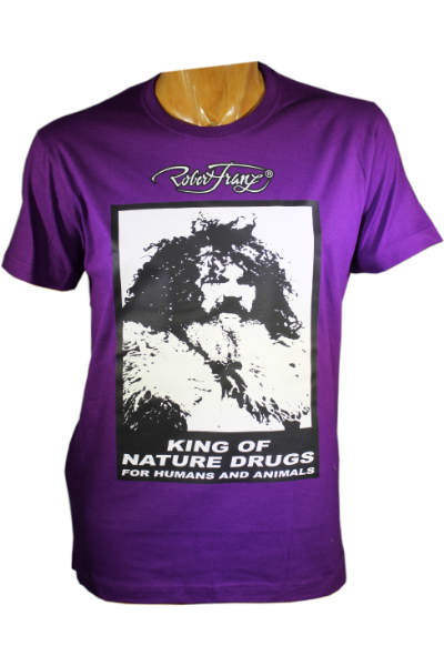 T-Shirt - King of Nature Drugs - Größe S