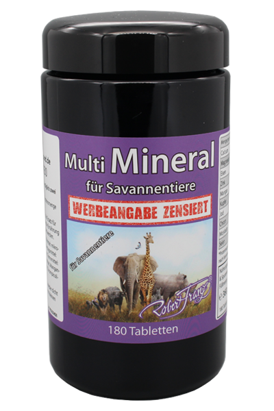 Multimineral für Savannentiere - 180 Tabletten