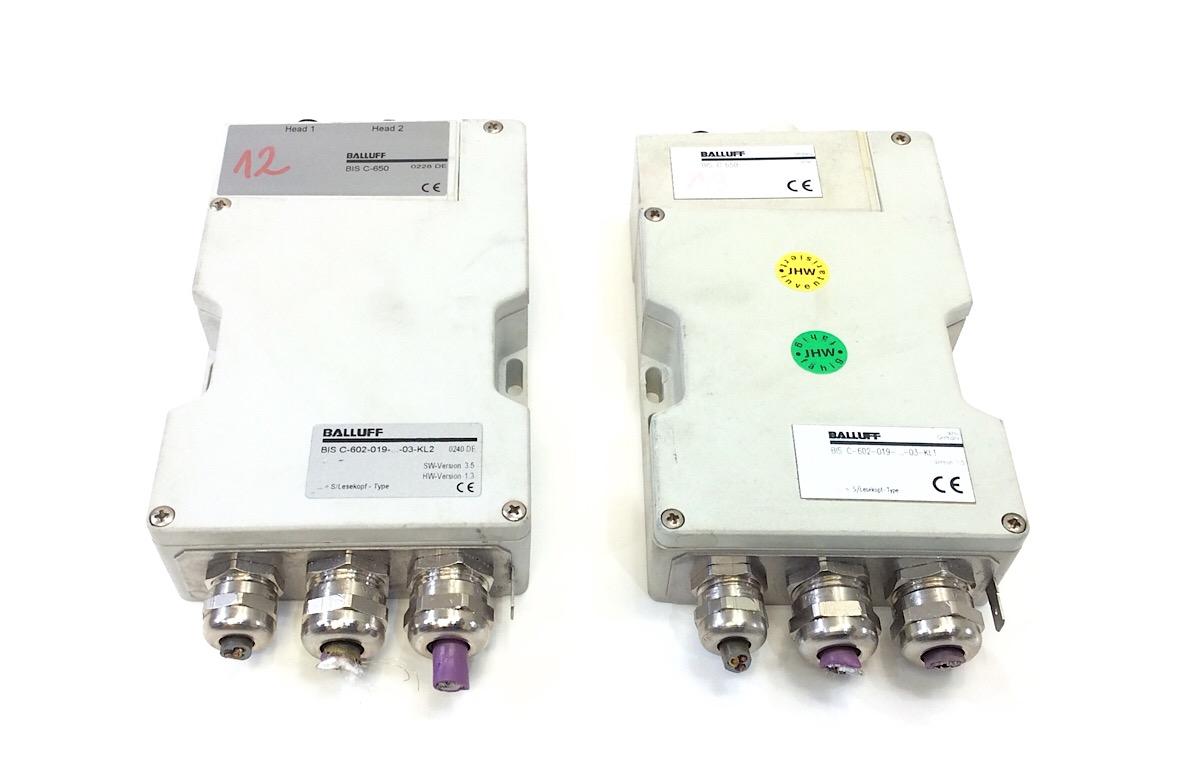 Balluff BIS C-602-019-…-03-KL1  Auswerteeinheit Version 1.5