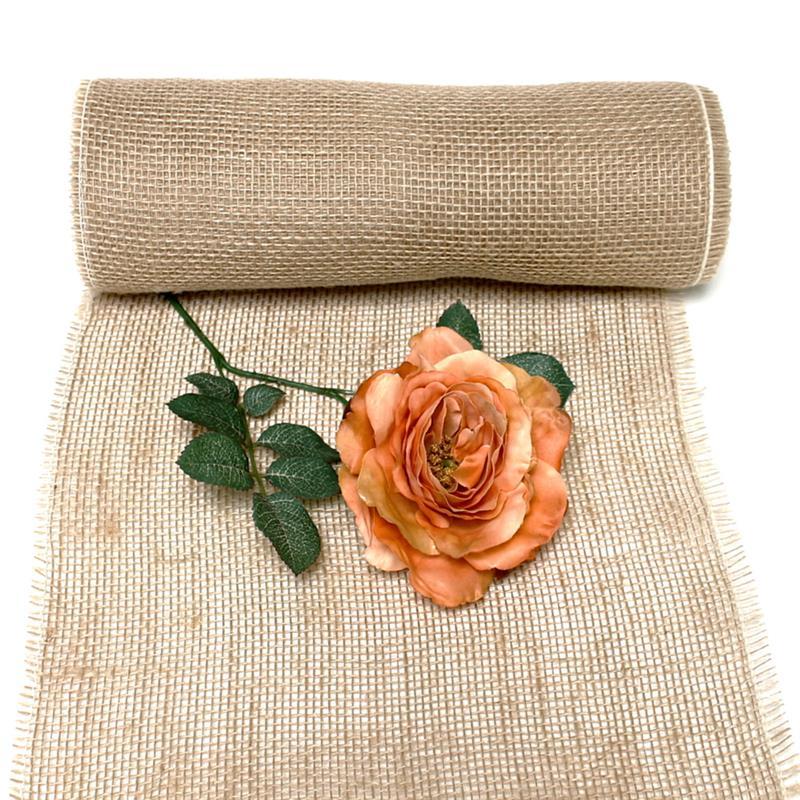 Jute Tischband natur, 30cm BREIT- 10 Meter, Naturartikel, Hochzeit ***