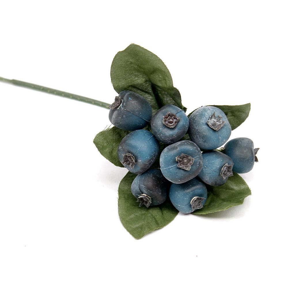 6cm Früchte// TOP diverse Farben 12 x Beeren Pick ca künstlich