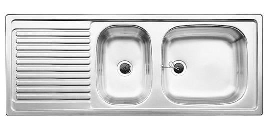BLANCO EES 8x4 Edelstahlspüle Einbauspüle Spülbecken Küchenspüle ...