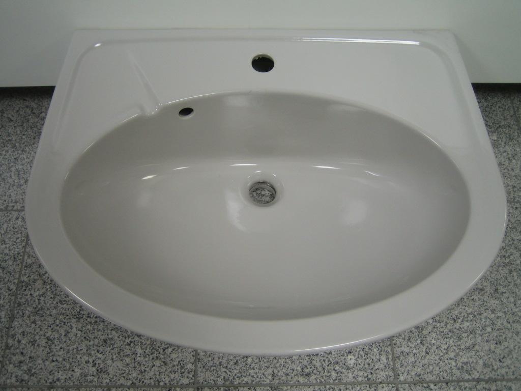 Waschbecken Grau novo-boch waschbecken waschtisch manhattan in zwei größen - 60x46 cm