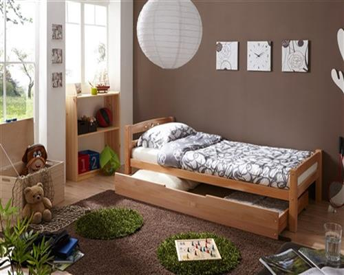 tagesbett bett salin buche massiv natur lackiert 90x200 cm fun m bel. Black Bedroom Furniture Sets. Home Design Ideas