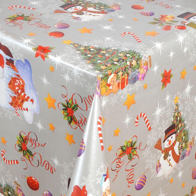 wachstuch tischdecke weihnachten weihnachtstischdecke. Black Bedroom Furniture Sets. Home Design Ideas
