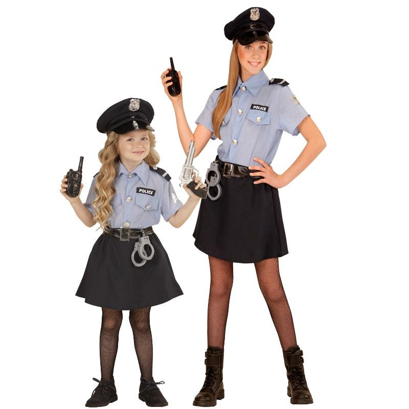 police girl polizei mÄdchen kinder kostüm größe 116  158
