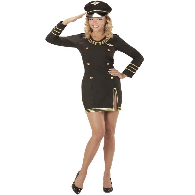 sexy damen kost m kreuzfahrt kapit nin 50 52 xxl matrosin marine uniform 0685 ebay. Black Bedroom Furniture Sets. Home Design Ideas