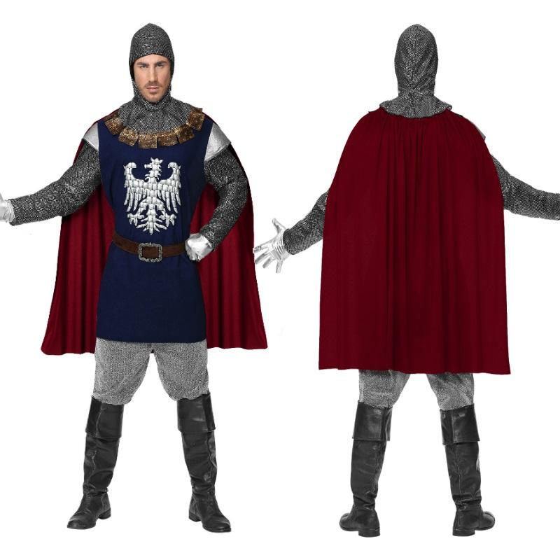 Tempelritter Herrenkostüm Kreuzritter Mittelalter Ritter Herren Kostüm