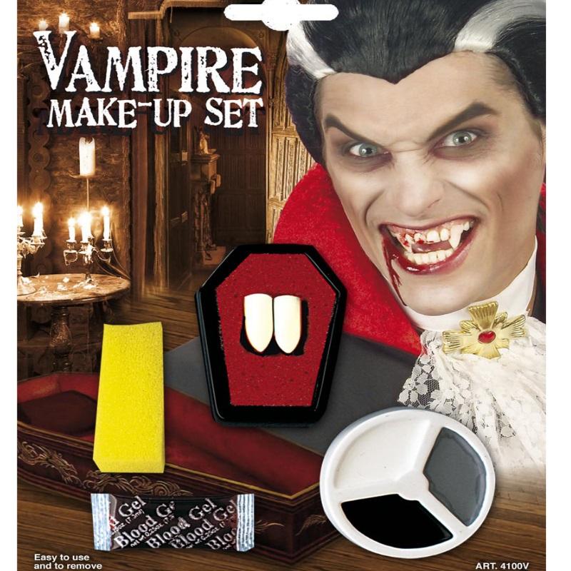 schminkset vampir schminke halloween fasching make up. Black Bedroom Furniture Sets. Home Design Ideas