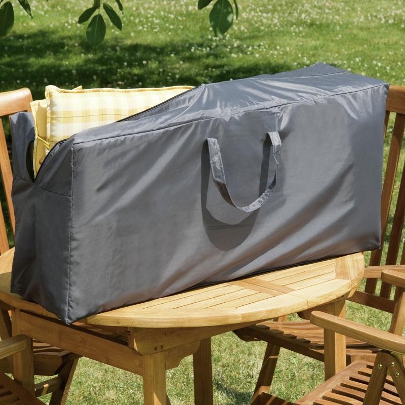wehncke deluxe schutzh lle transporttasche f r 4 hochlehner auflagen anthrazit ebay. Black Bedroom Furniture Sets. Home Design Ideas