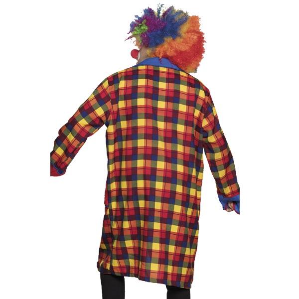 Herren Kostüm L/XL Paarkostüm Karneval Fasching 52-56 KARO CLOWN JACKE