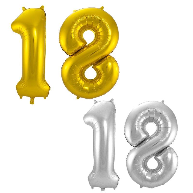 Zahlenballon Nummer 30 gold 86cm 100cm Luftballons Folienballon Geburtstag xxl