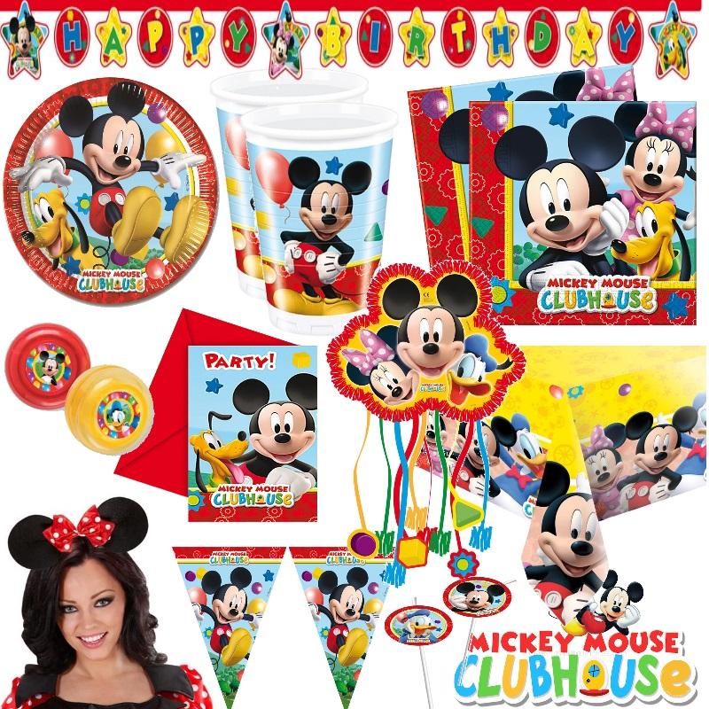 micky maus alles zum kindergeburtstag party deko mickey mouse minnie geburtstag ebay. Black Bedroom Furniture Sets. Home Design Ideas