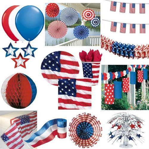 je 266 ml 8 x Becher USA für Amerika Motto Partys und Football Feste