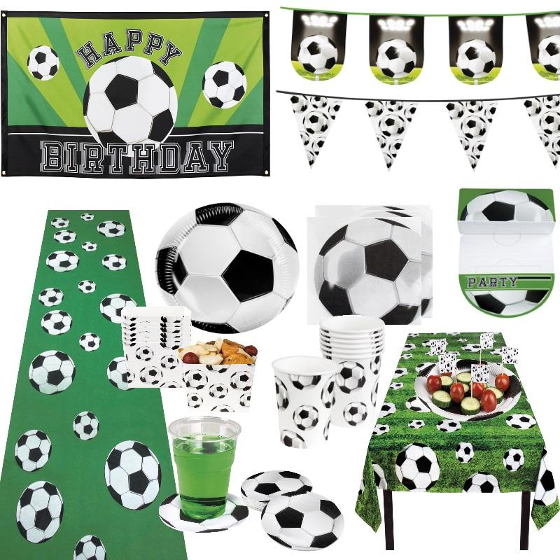 Fussball Party Deko Set Dekoration WM EM 2020 Geburtstag Kindergeburtstag