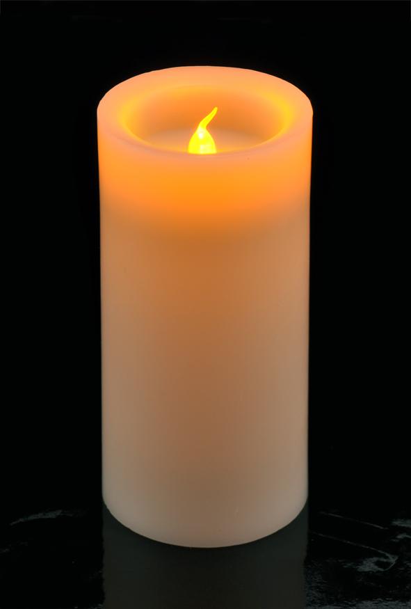 flammenlose led adventskerzen 4 er set gold elektrische kerzen ebay. Black Bedroom Furniture Sets. Home Design Ideas