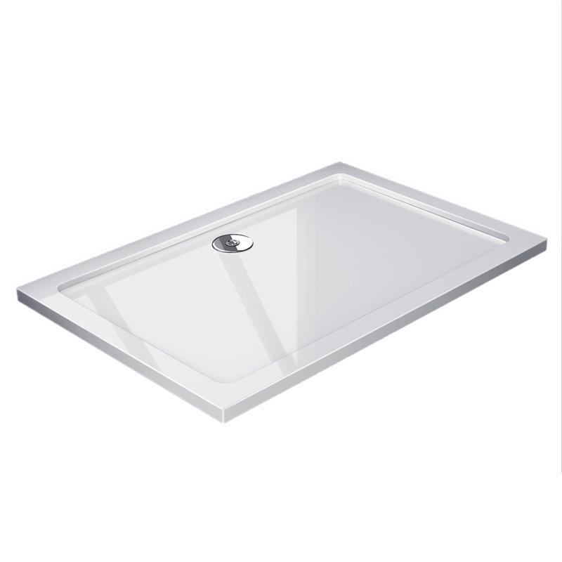 duschwanne duschbecken duschtasse duschmeister mineralguss neo 80x120 ebay. Black Bedroom Furniture Sets. Home Design Ideas